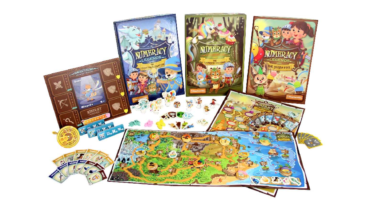 Numeracy Legends: Inspiring Kids Love of Math at Play. by Shepherd ...