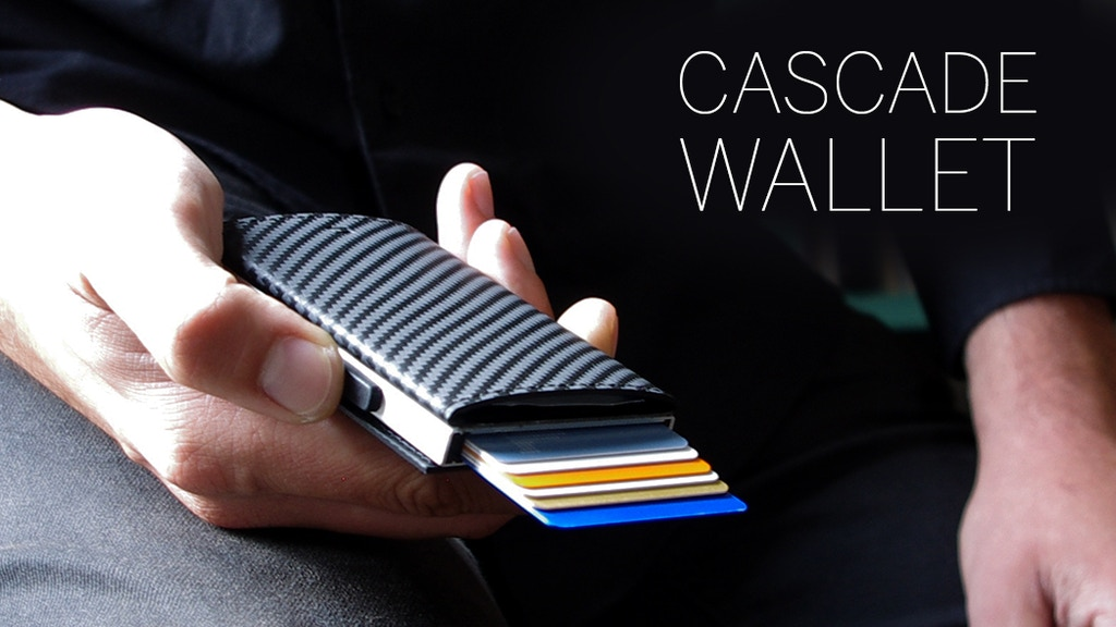 CASCADE LEATHER WALLET : Pay fast with style ! project video thumbnail