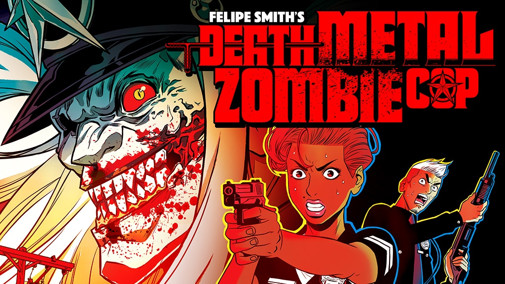 Death Metal Zombie Cop Issue #1 project video thumbnail