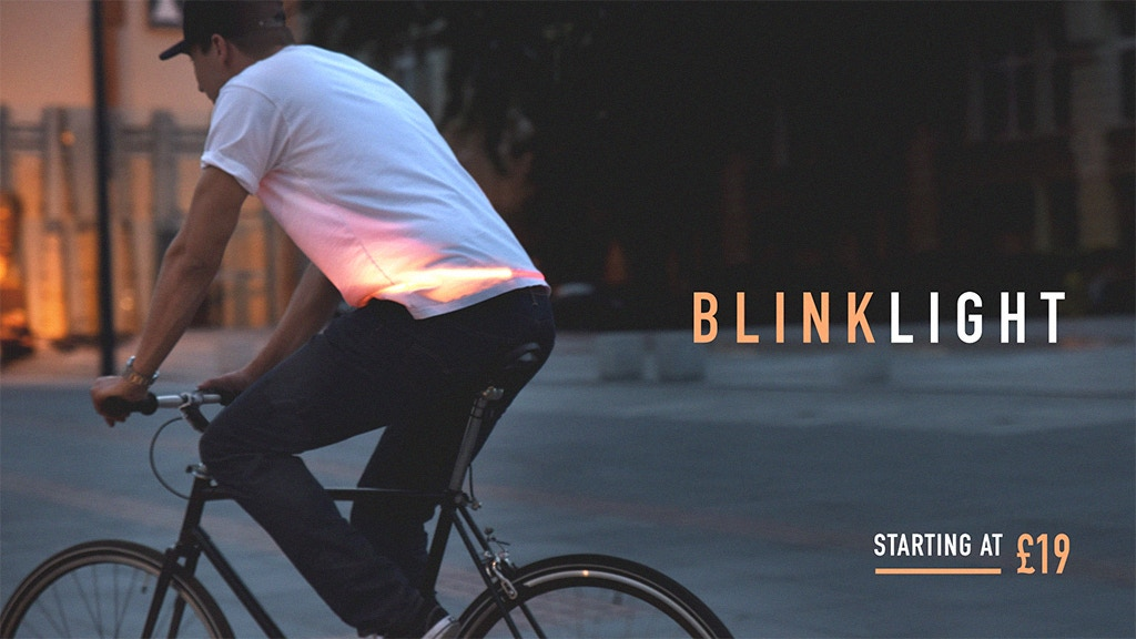 BlinkLight: Animated bike led indicators and automatic stop project video thumbnail