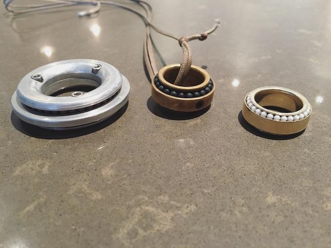 Inspiration, 2013 Ring, 2014 Ring (Current Design)