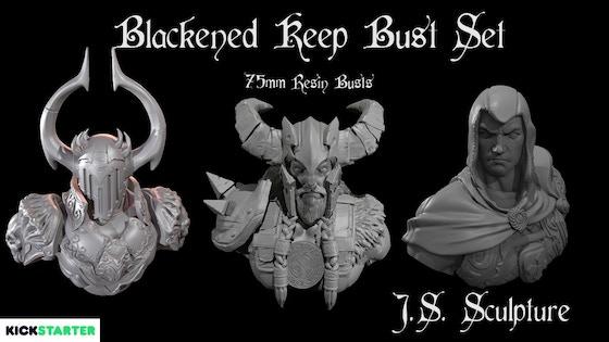 Blackened Keep Bust Set