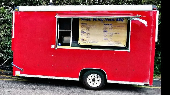 Sweet String Music BBQ food truck