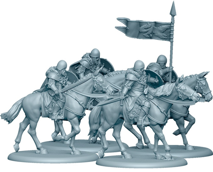3D Render of the Stark Outriders, included in the Starter Set!