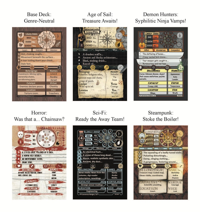 The GameMaster's Apprentice: A Fantasy Deck for any RPG by