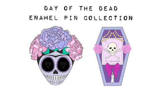 Day of the Dead - Collection of Enamel Pins