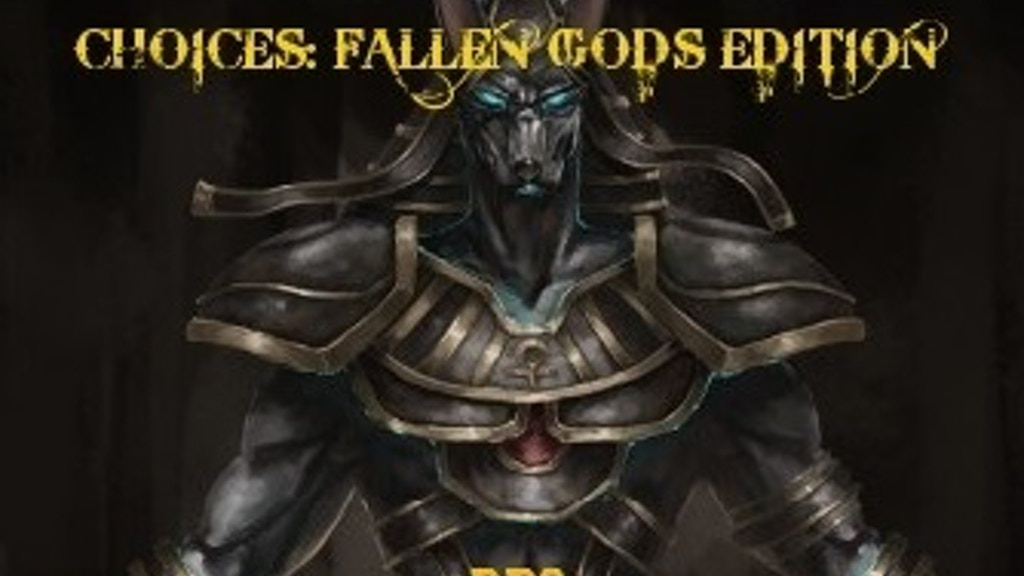 Project image for CHOICES: FALLEN GODS EDITION RPG (Canceled)