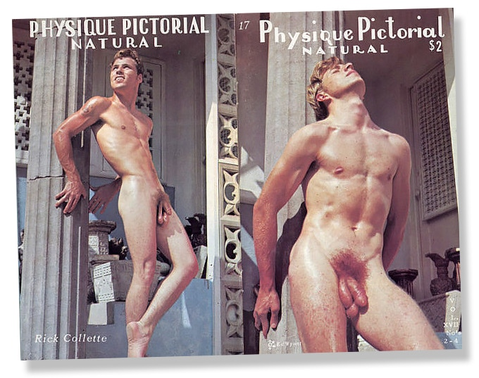 The first nude issue of Physique Pictorial, 1968