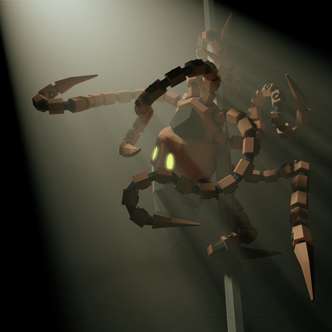 Pole dancing is one of the things this Cephelo-bot does best.