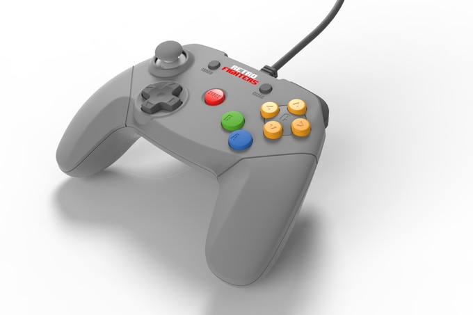 N64 Retro Fighters Controller (front shot)