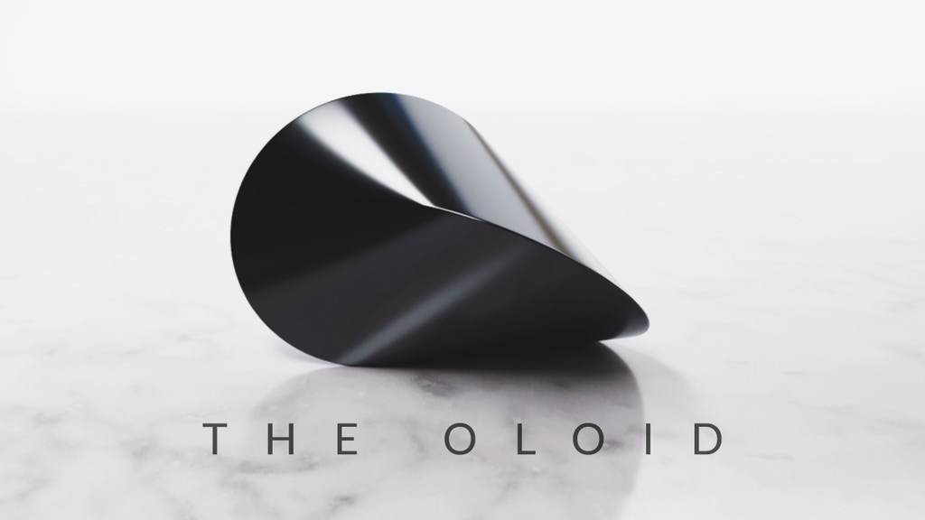 THE OLOID: A mathematically perfect piece of art project video thumbnail