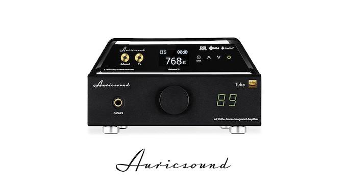 AuricSound A7 Vacuum Tube Amp XLR Stereo Hybrid by