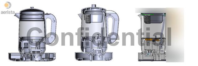Evolution of Qi Aerista's mechanical design