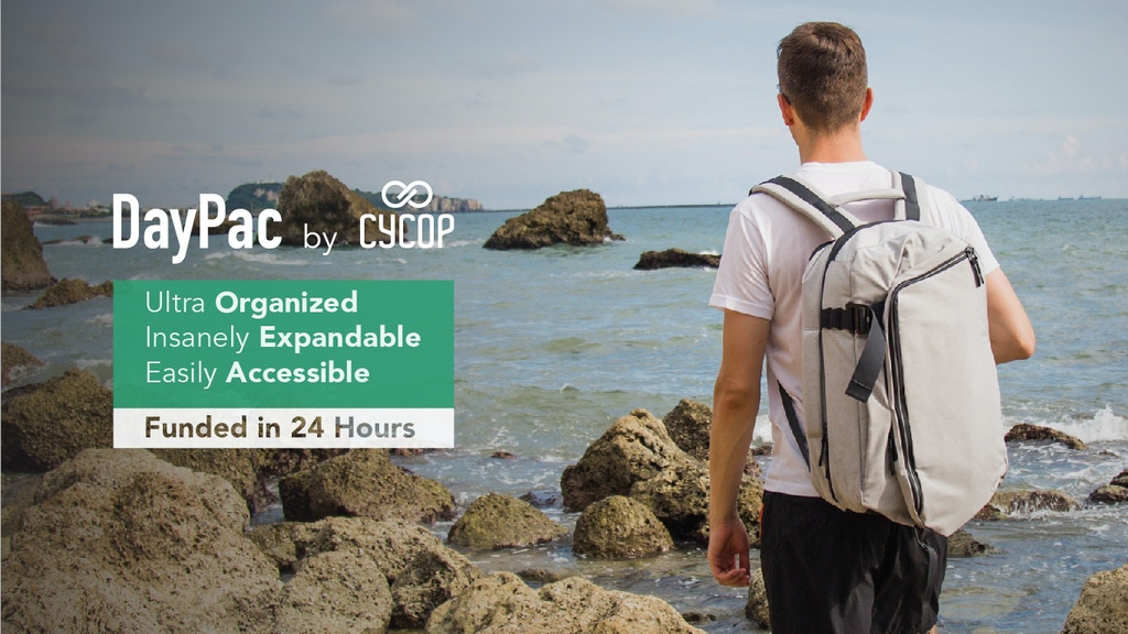 World's Best Everyday Backpack. Rummage Less, Pack More & Easily Access Daily Essentials. DayPac Allows You to Cope with Any Challenge!