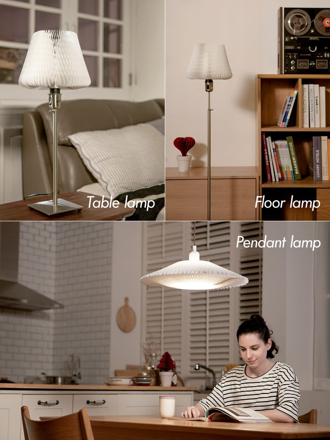 Enjoy D'LIGHT in diverse types of lamp
