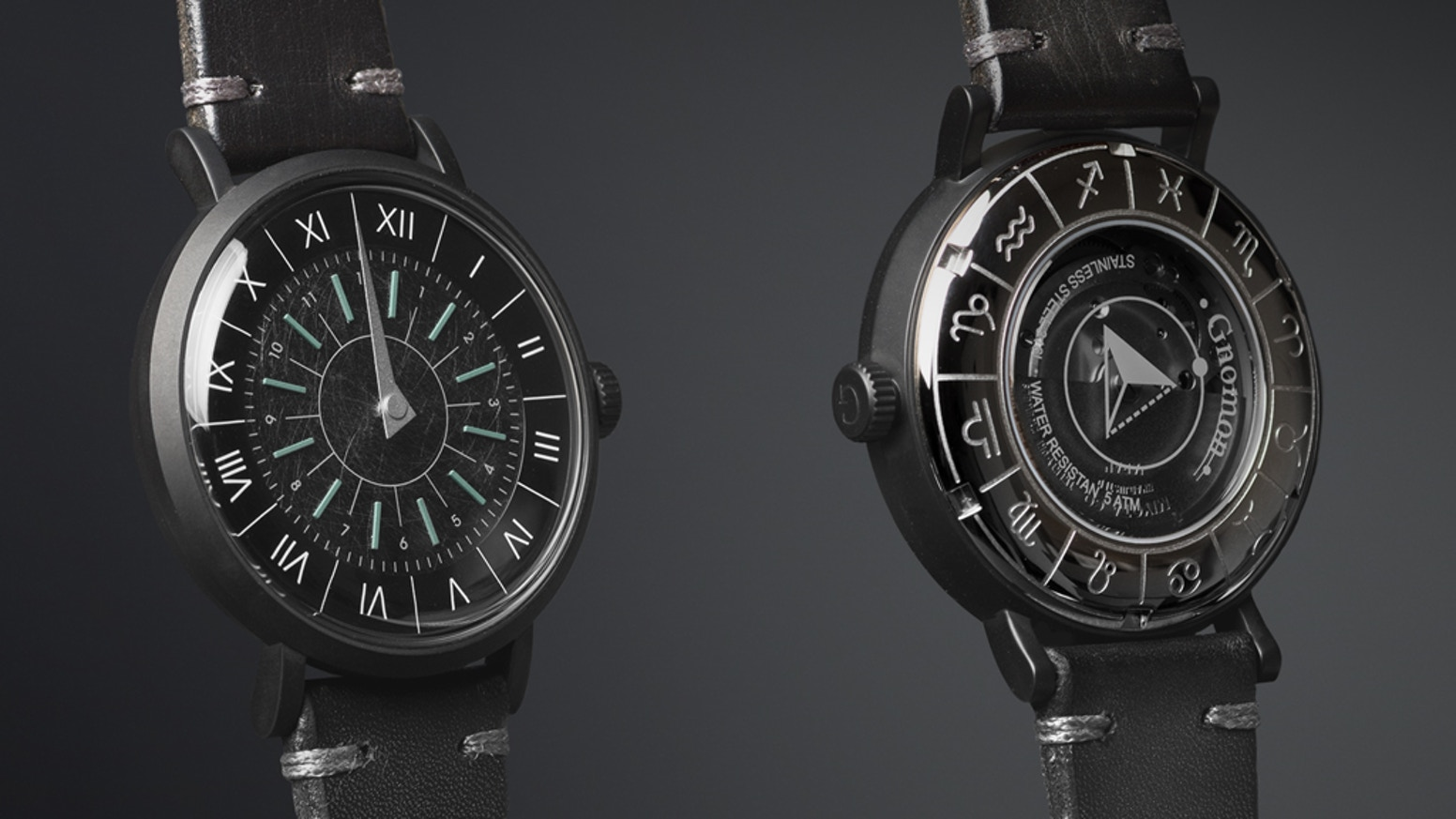 Check the website to see our second collection of the sundial-inspred wristwatch!