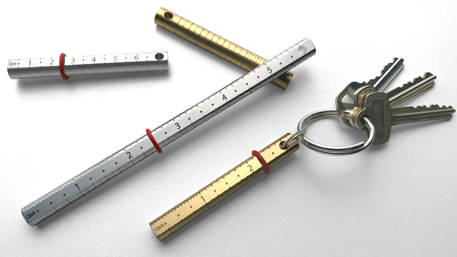 Precision machined Brass & Stainless Steel measuring artifacts - your own personal 'standard'