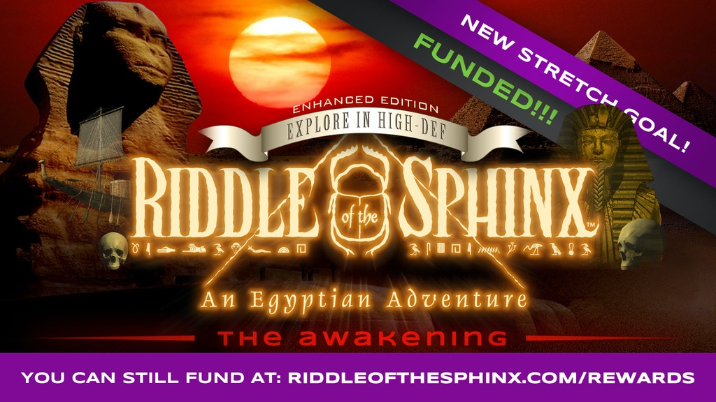 Riddle of the Sphinx: Awakening - EXPLORE the Great Pyramid! project video thumbnail