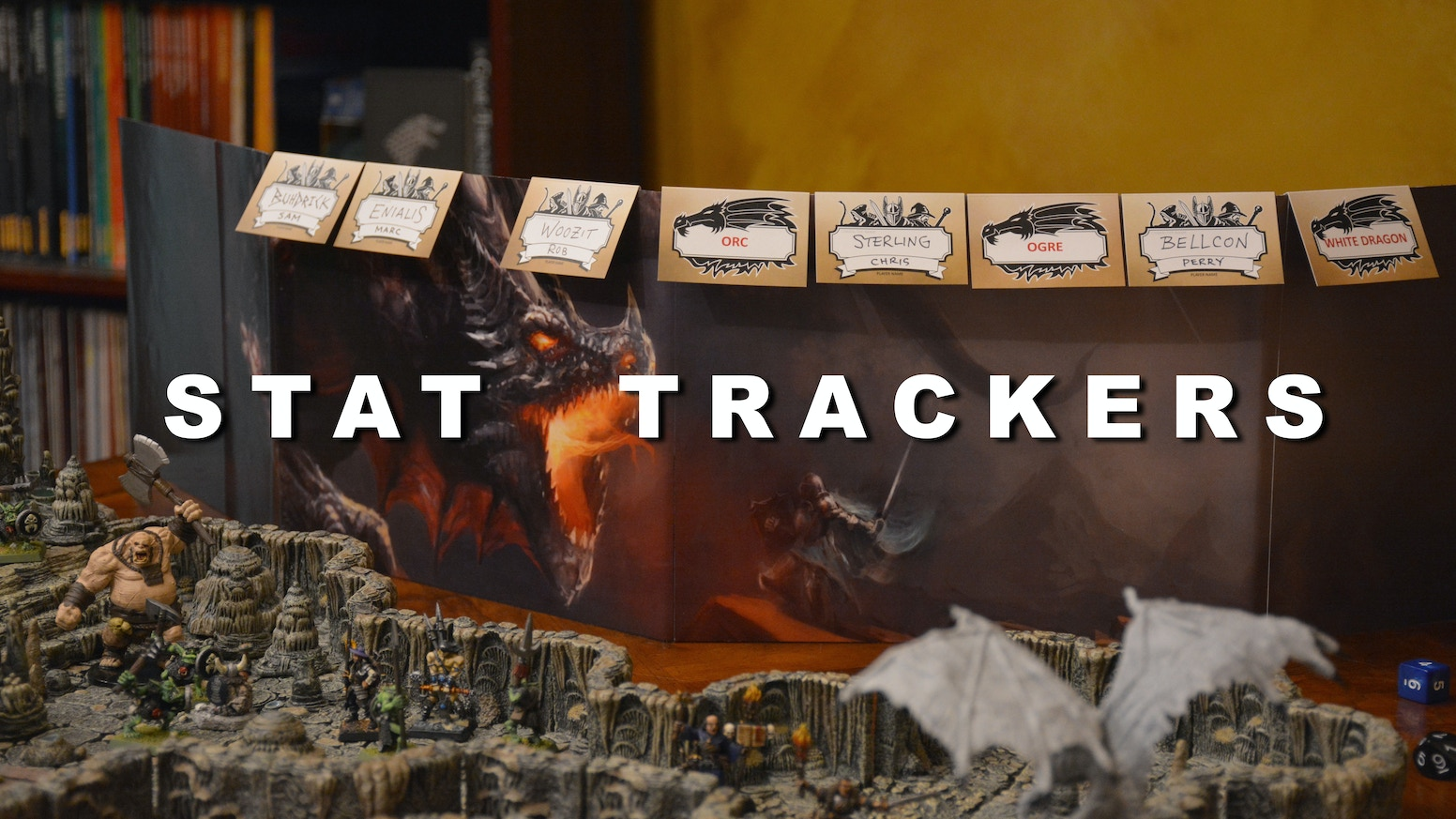 Stat Trackers are a simple way for 5th edition GMs to track initiative and have all the stats for monsters and PCs at their fingertips!