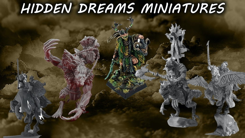 Hidden Dreams miniatures project video thumbnail