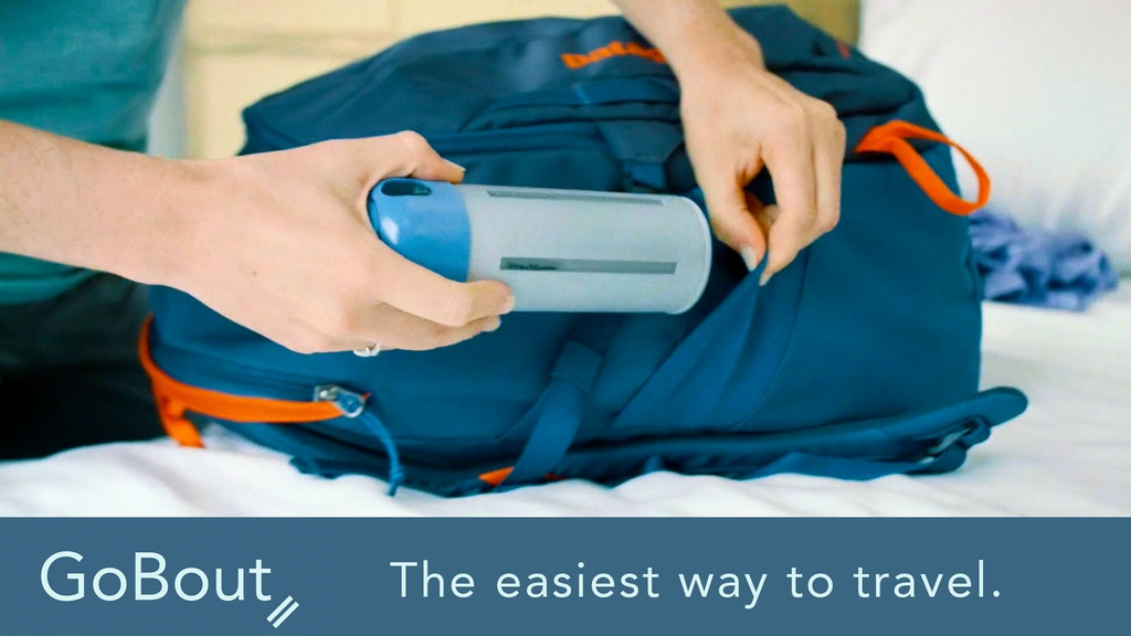 GoBout: Carry all your Essentials in one Bottle project video thumbnail