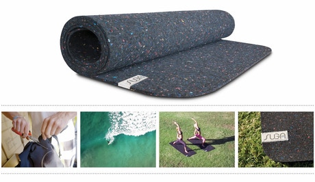 Suga Yoga Mats Made From Recycled Wetsuits By Suga