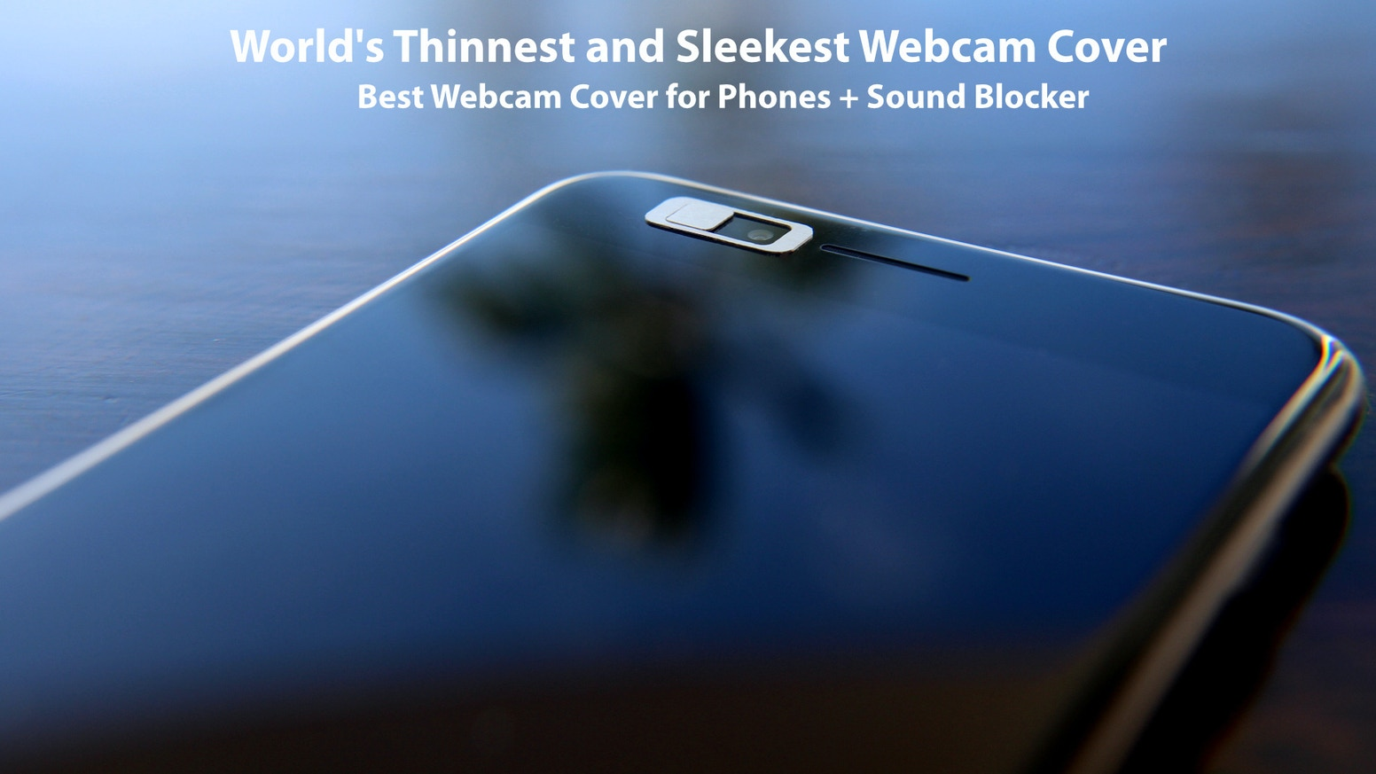 Protect your conversational and visual privacy. World's thinnest and sleekest mechanical webcam cover + sound blocker.