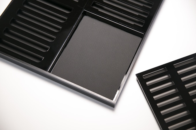 Neoprene inserts protect the bottom of your game cartridges.