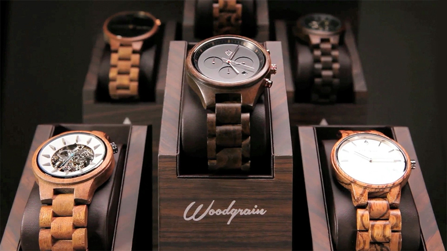 Eye-catching, high-quality timepieces that spark conversation.  Built by hand and curated by our Customer Design Team!