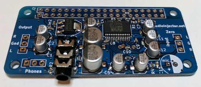 Audio Injector Zero Sound Card for the Raspberry Pi