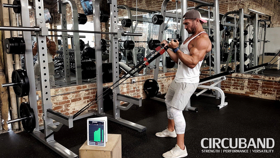 Circuband iQ: All-in-One Home Gym with Muscle Tracking