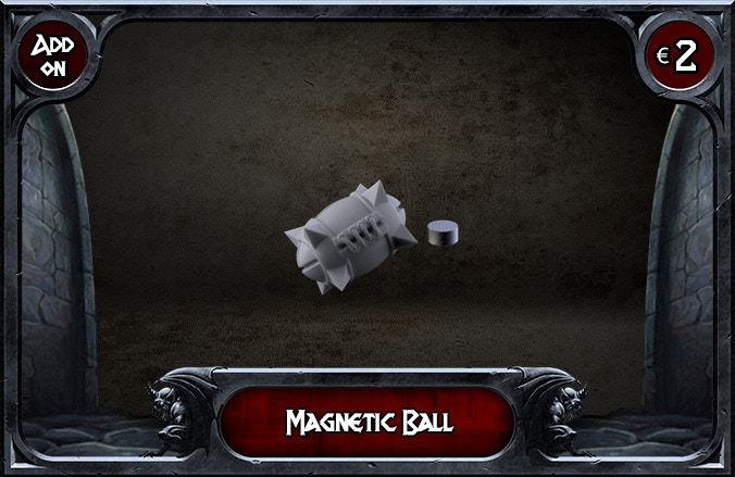 You will receive 1 Ball and 1 Magnet