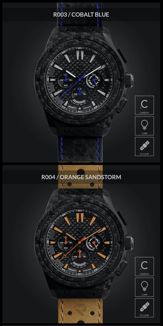 A Watch Made Of Carbon Fiber Goodness By