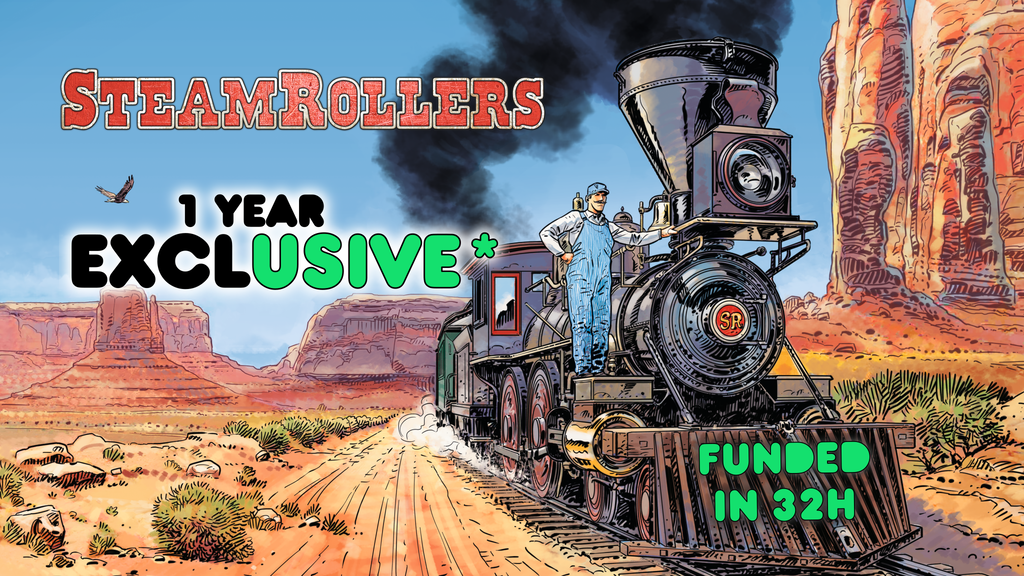 SteamRollers - The definitive roll and write train game project video thumbnail