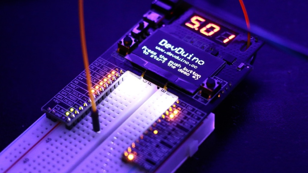 DevDuino - The Best Way to Learn and Explore Arduino World project video thumbnail