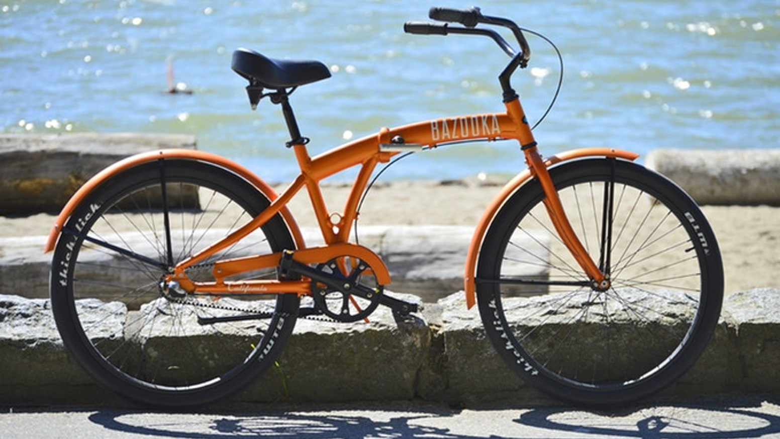 The Only Full Size Light Folding Beach Cruiser Bike With Carbon Belt Drive Compact When