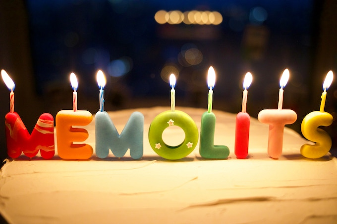 Memolits Customizable Party Candles To Keep Forever By Memolits