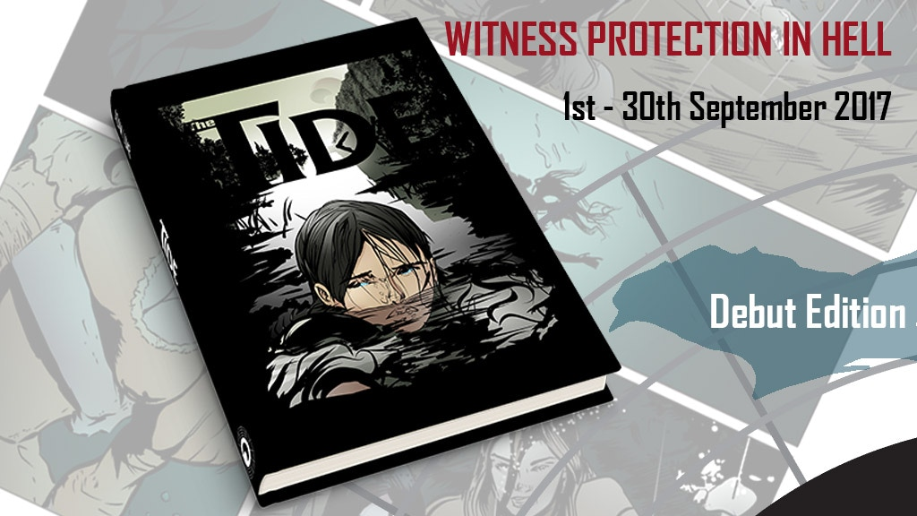 """""""THE TIDE"""" comic. Witness protection in a world of monsters. project video thumbnail"""