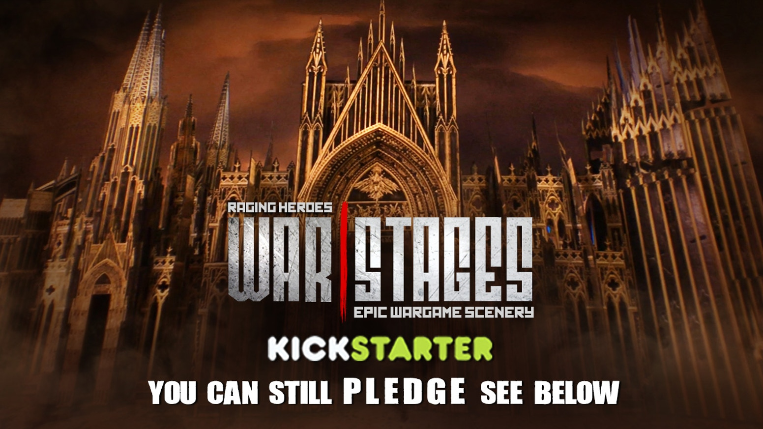 WarStages is THE Scenery System for 28mm scale miniatures you've been waiting for: Ultra-Modular, Epic, Flexible, Gorgeous!