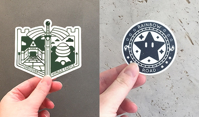 This year I decided to bring together my fondness for video games and Japan's memorial stamps in an illustration project called Pixel Passport, where I create passport stamps for places from game series' such as The Legend of Zelda, Final Fantasy, Mario, Metroid, Dark Souls and more.