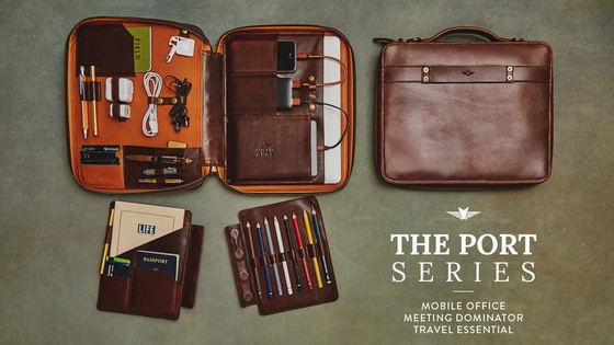 Modular Leather Tech Portfolios for a Better Daily Carry