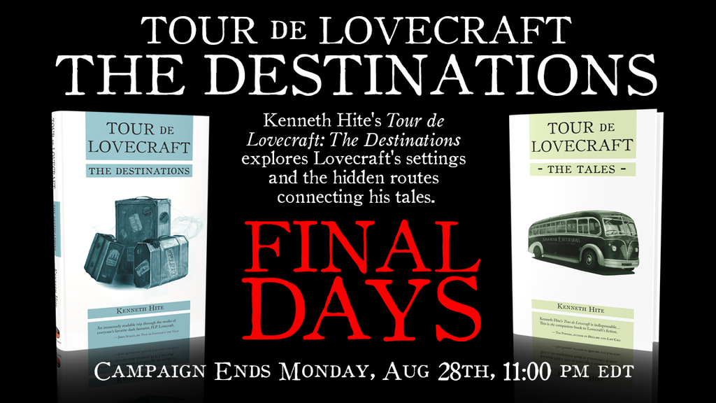 Tour de Lovecraft: The Destinations - Cthulhu Mythos Places project video thumbnail