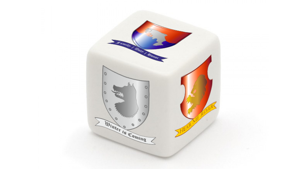 Project image for Game of Thrones House Dice (Canceled)