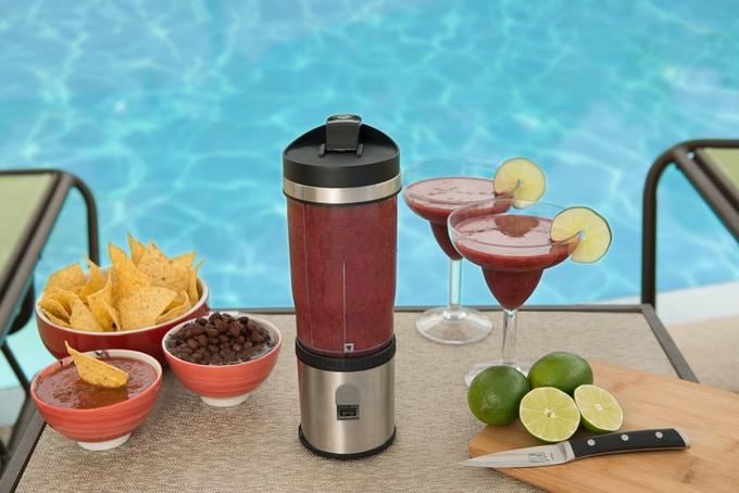 Bring the party to the pool or beach.
