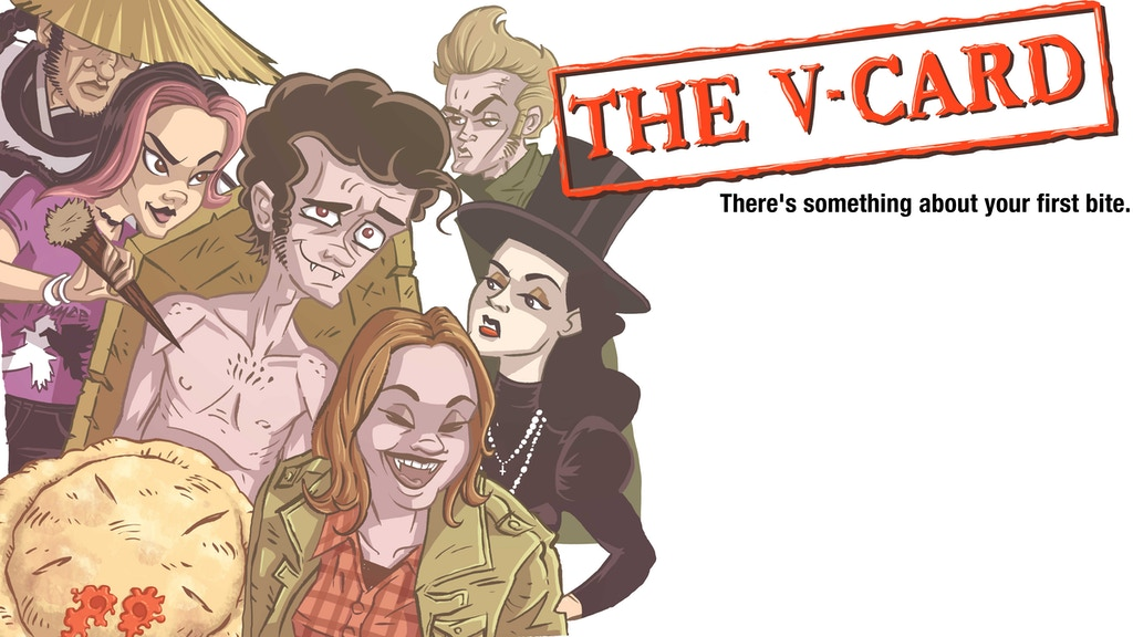 "Golden Ticket Comics presents...""The V-Card"" project video thumbnail"