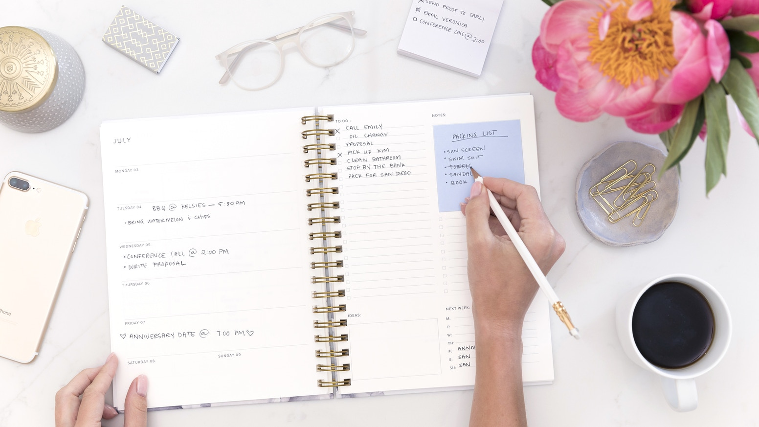 A customized planner to fulfill your planning needs according to your preference, schedule, and style.