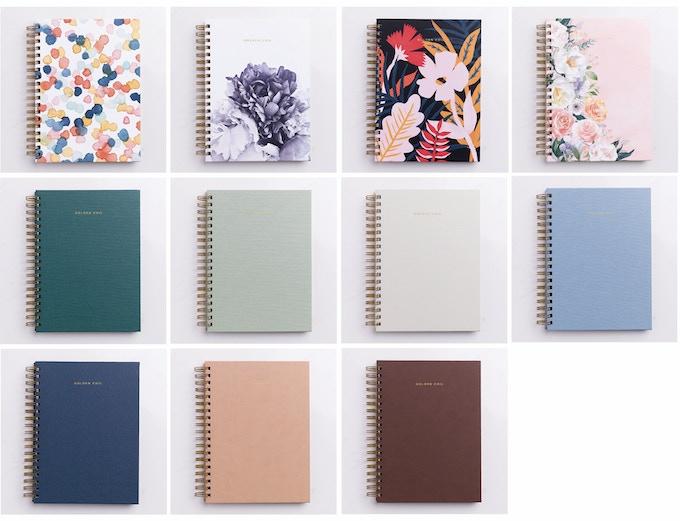Kickstarter Calendar Planner : Golden coil customizable planners by trisha zemp