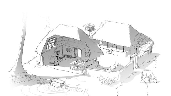 Champa's Home
