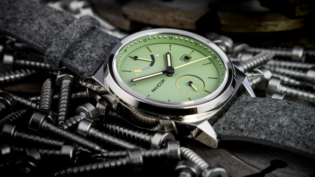The P02 automatic watch by Pancor: Allround and contemporary project video thumbnail