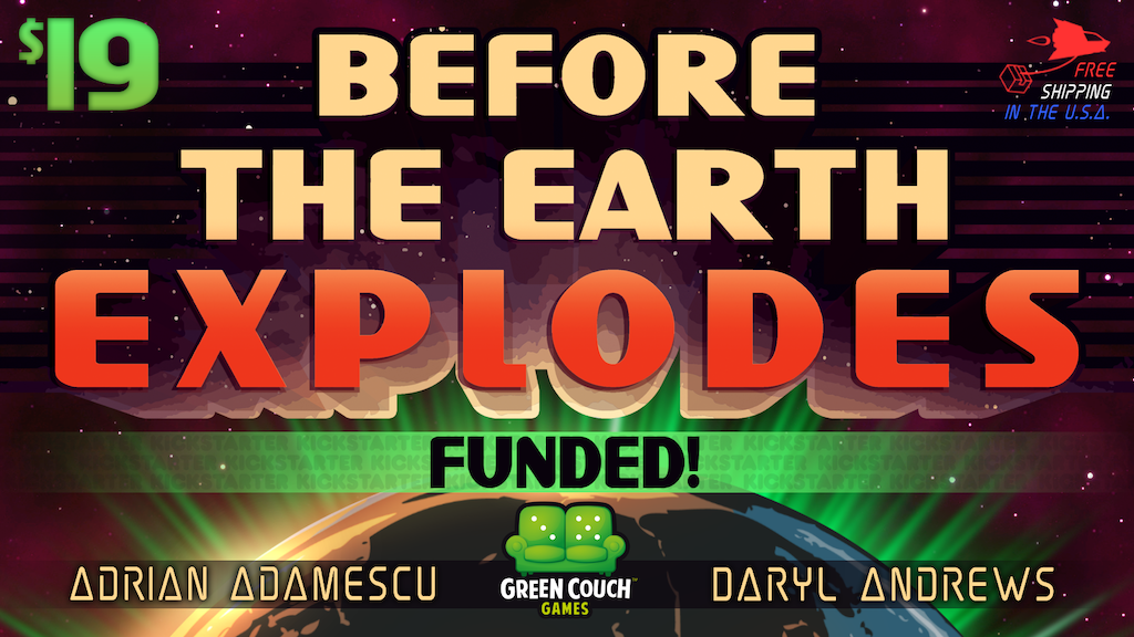 Before The Earth Explodes: A retro sci-fi card game. project video thumbnail